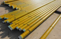 Paslanmaz Titanyum Kaplı Sarı Boru